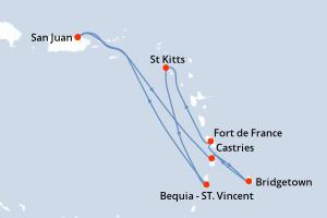 Croisière Antilles françases