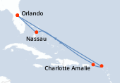 Orlando, Nassau, Navigation, Charlotte Amalie, Saint-Martin, Navigation, Navigation, Orlando