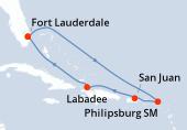 Fort Lauderdale, Navigation, Navigation, Saint-Martin, Porto Rico, Haïti, Navigation, Fort Lauderdale