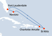 Fort Lauderdale, Nassau, Navigation, Charlotte Amalie, Saint Kitts, Navigation, Navigation, Fort Lauderdale