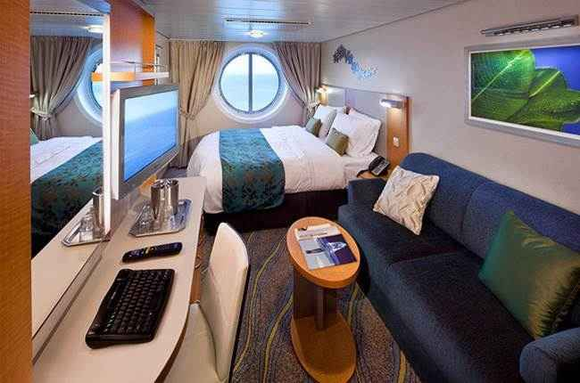 Allure of the Seas - Cabine extérieure