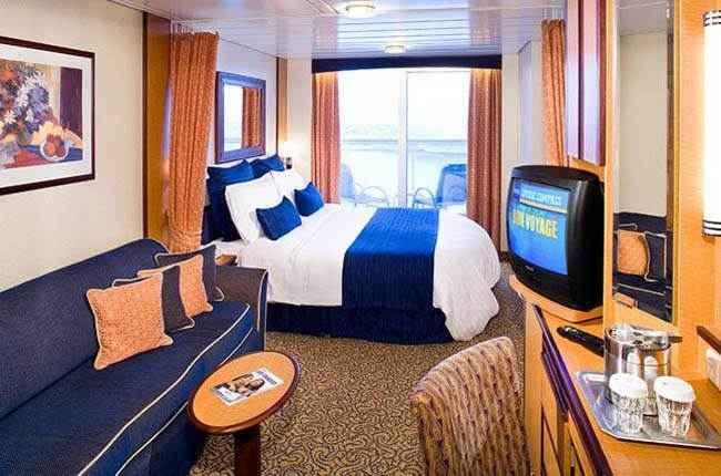 Brilliance of the Seas - Cabine balcon