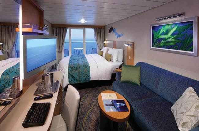 Oasis of the Seas - Cabine balcon
