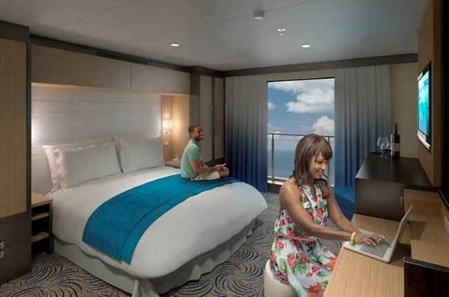 Ovation of the Seas - Cabine intérieure