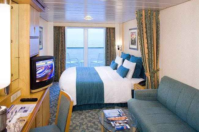Voyager of the Seas - Cabine balcon
