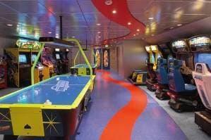 Sale d'arcades