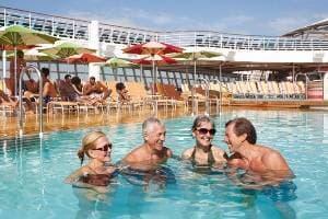 4 piscines