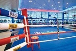 Ring de boxe grandeur nature
