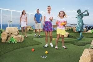 Parcours de mini-golf