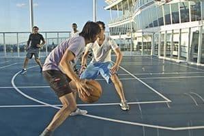 Terrain de sports