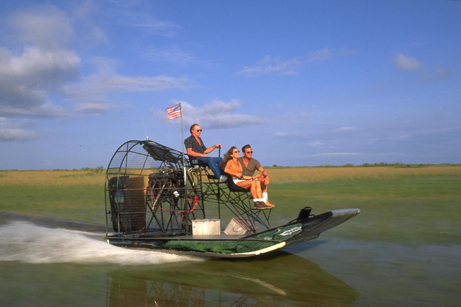 Tour multilingue delle Everglades