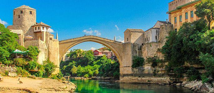 Sarajevo et mostar
